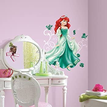 RoomMates RMK2550GM Disney Press Ariel Peel and Stick Giant Wall Decals