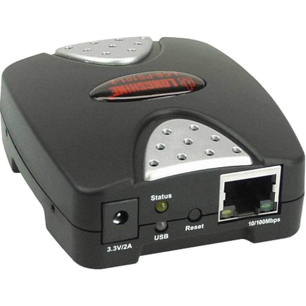 Longshine LCS-PS101-B Printserver 10//100 1x USB2.0 Retail Schwarz