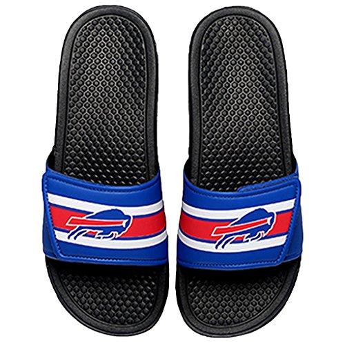 Buffalo Bills NFL Stripe Legacy Sport Slide - Mens - Large