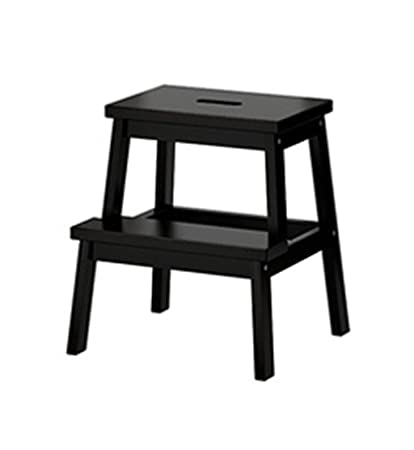 Swell Amazon Com Yxsd Wood Step Stool Two Step Ladder Foldable Ibusinesslaw Wood Chair Design Ideas Ibusinesslaworg