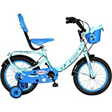 Hero Peppy 16T Junior Bike - Blue & Black (10.2' Frame)
