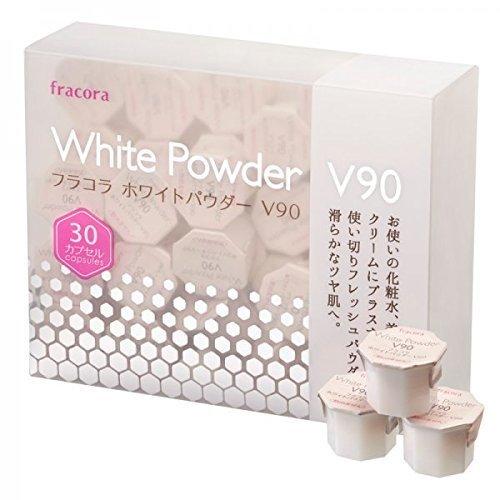 Japan Fracora White Powder V90 Capsules for Skin Whitening - Japan Imported by Fracora