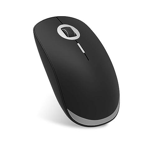 Szyee Ratón Bluetooth Ratón Inalámbrico Ratón Recargable Ratón portátil Silencioso Ultrafino Se Aplica para PC Computadora