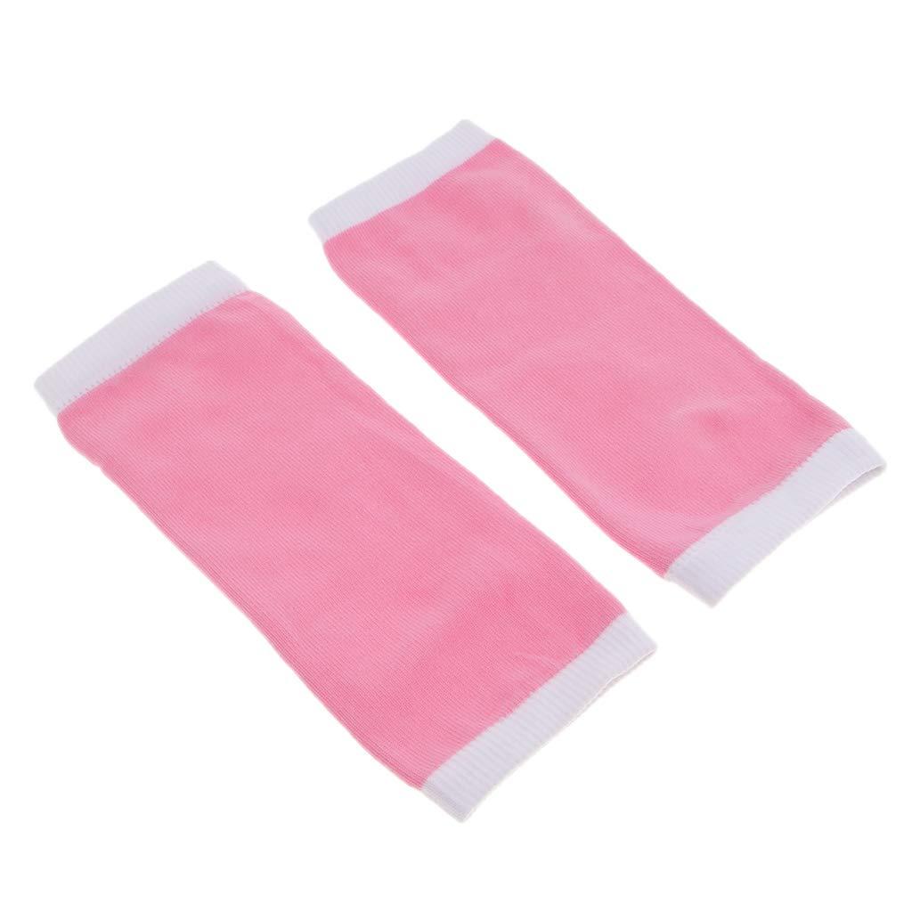 Baoblaze Feuchtigkeitsspendendes Gel Socken mit Spa Qualität, Rosa