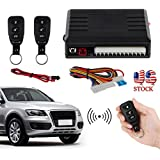 CAMWAY Universal Car Remote Control Central Kit Door Lock Vehicle Keyless Entry System for Colorado Mercedes BMW Toyota Jeep etc