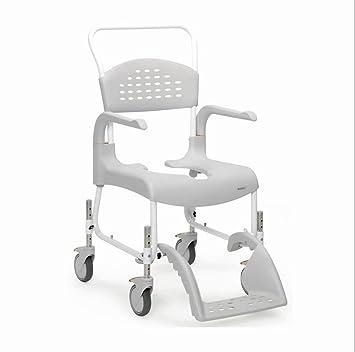 Amazon.com: Limpiar altura ajustable silla de ducha: Health ...