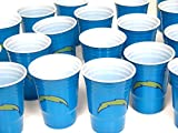 Los Angeles chargers barbecue cookout 4th of July Jumbo party cups set of 36. Large plastic colorful 18 oz, game day plastic cups.