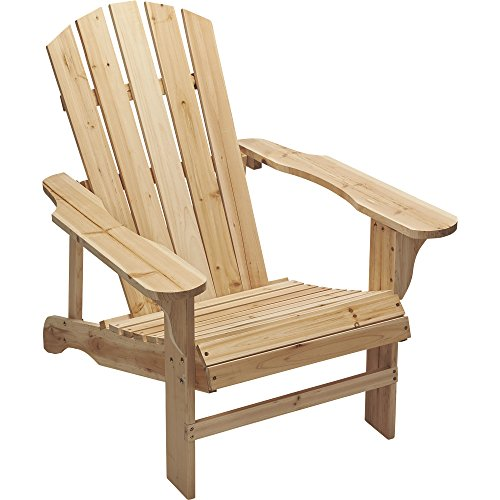 Etonnant Leigh Country Fir Unpainted Adirondack Chair