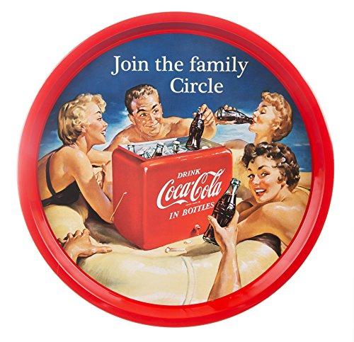 Coca Cola Family Circle Bar Tray - Vintage Coca Cola Tray Shopping Results