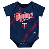 "Minnesota Twins Infant ""Fan-Atic"" Team-Color Baseball Creeper"