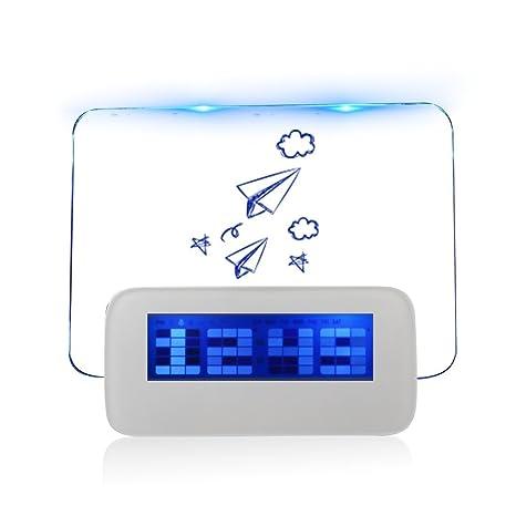 A-szcxtop(TM) Alarma Coco Digitales LED Reloj del Tablero de Mensaje con