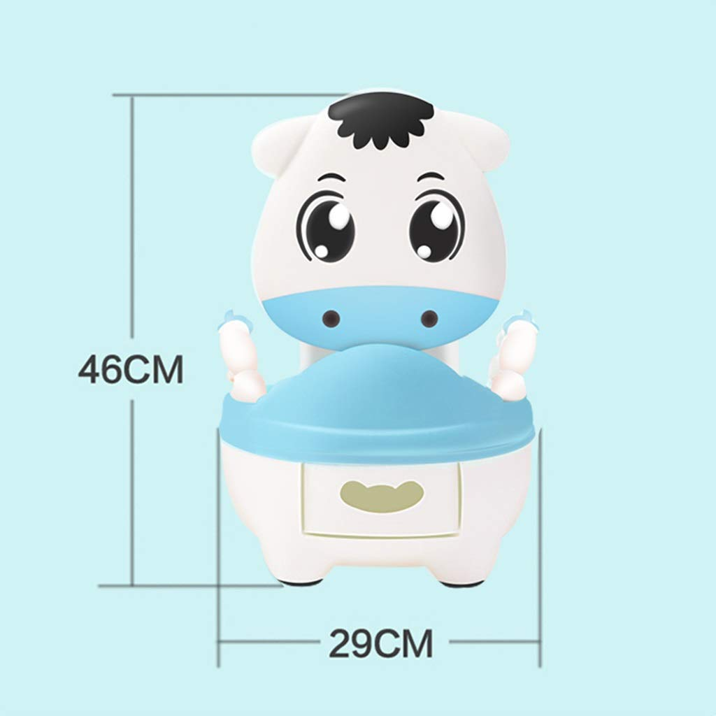 XWJC Children's Toilet Toilet Men and Women Baby Child Baby Drawer Type Potty Urinal (Color : Blue) by XWJC (Image #5)