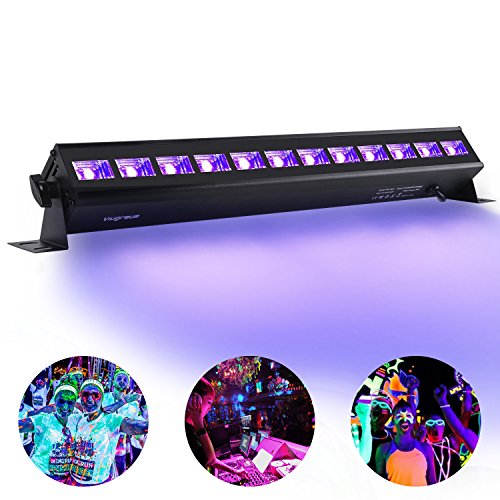 uv bar black lights fixture