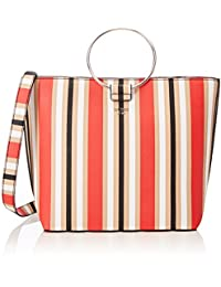 Keaton Striped Tote