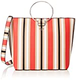 GUESS Keaton Striped Tote, Multi Stripe