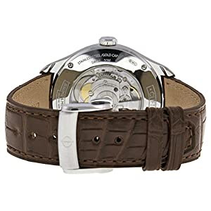 Baume & Mercier Men's BMMOA10139 Clifton Analog Display Swiss Automatic Brown Watch