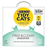 Purina Tidy Cats Free & Clean with TidyLock Protection Clumping Cat Litter – 40 lb. Box Review