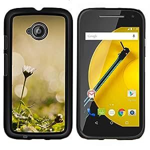 """For Motorola Moto E2 / E 2nd gen , S-type Planta Naturaleza Forrest Flor 45"""" - Arte & diseño plástico duro Fundas Cover Cubre Hard Case Cover"""