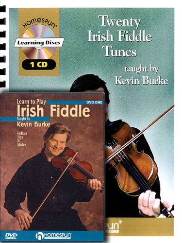 Irish Fiddle Bundle Pack: Includes 20 Irish Fiddle Tunes (Book/CD) and Learn to Play Irish Fiddle (DVD)