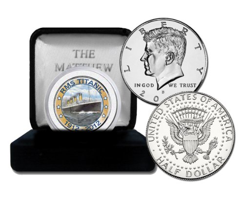 (The Matthew Mint Titanic Boat Coin)