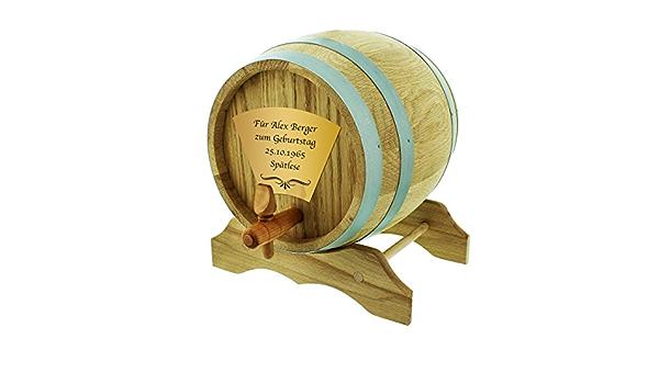El barril de madera de roble 2 litros Incluye grabado) – El ...