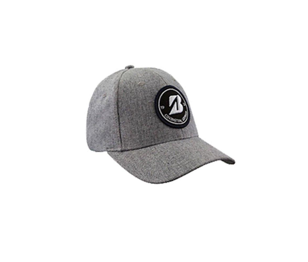 NEW Bridgestone Golf Heather Grey Lifestyle Patch Adjustable Hat/Cap by Bridgestone (Image #1)
