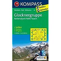 Glocknergruppe - Nationalpark Hohe Tauern: Wanderkarte mit KOMPASS-Lexikon, Panorama, Radwegen und alpinen Skirouten. GPS-genau. 1:50000: Wandelkaart 1:50 000 (KOMPASS-Wanderkarten, Band 39)