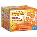 60-Count Emergen-C Vitamin C Super Orange Supplement Drink Mix