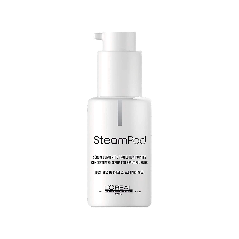 L'Oreal Professionnel Steampod - Sérum Concentrado Protección de Puntas, para todo tipo de cabellos, 50 ml
