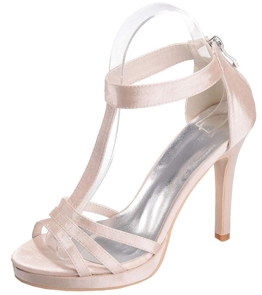 Mujer Para Sandalias Altos Tacones Zapatos Yojdtd ZNX8P0wknO