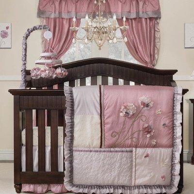 Kids Line Fleur 9 Piece Crib Bedding Set