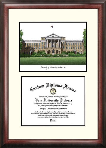 Campus Images ''University of Wisconsin-Madison'' Scholar Diploma Frame, 8'' x 10'' by Campus Images
