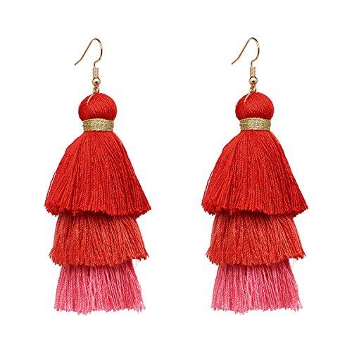 Bohemian Style Earrings - 4