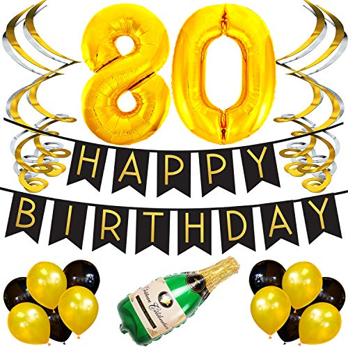 Sterling James Co. 80th Birthday Party Pack -