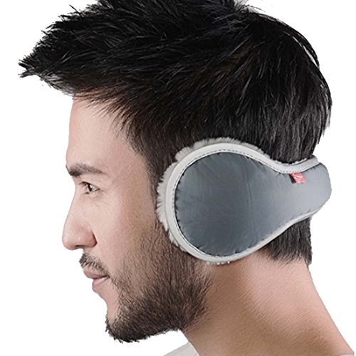 LerBen Men Women Foldable EarMuffs Winter Outdoor Wrap around Ear (Wrap Around Ear Warmers)