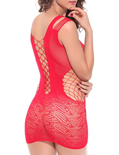 Sexy Lingerie Hot Sexy Costumes Sexy Underwear (Red one size)