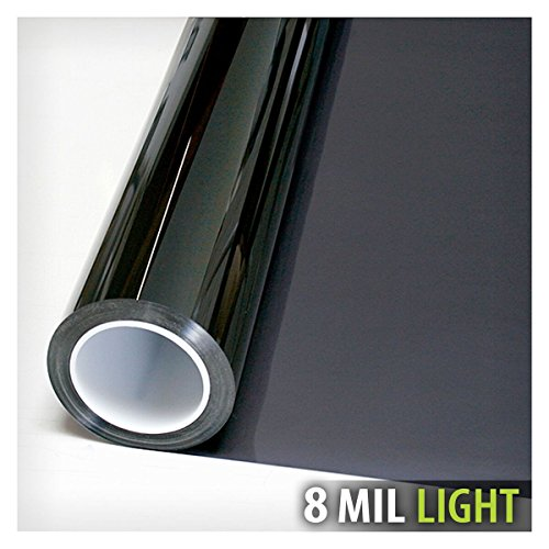 BDF S8MB50 WIndow Film Security and Safety 8 Mil Black 50 (Light) - 48in X 24ft by Buydecorativefilm (Image #2)