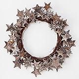 Birch Bark Star Wreath