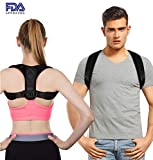 Posture Corrector for Women & Men, Comfortable & Adjustable Back Brace, Effective Neck Pain Relief Device, Improve Your Posture & Feel the Amazing Benefits, Corrects Slouching, Hunching & Bad Posture