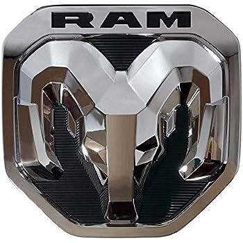 2019 Dodge RAM 1500 DT Matte Black RAM/'s Head Tailgate Emblem NEW MOPAR OEM