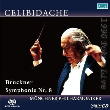 ブルックナー: 交響曲第8番ハ短調WAB108 (Bruckner : Symphonie Nr.8 / Celididache, Munchner Philharmoniker) [SACD シングルレイヤー]