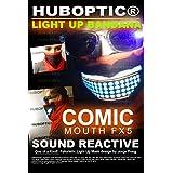 Comic Mouth FX5 Light Up Bandana Mask for Dancer