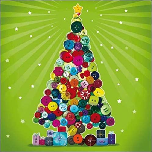 Pack of 5 Christmas Tree Samaritans Charity Christmas Cards Xmas Card Packs: Amazon.es: Oficina y papelería