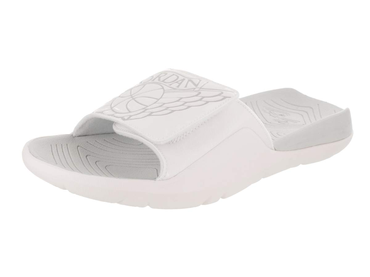 uk availability 0e442 46b59 Galleon - Jordan Nike Men s Hydro 7 White Pure Platinum Sandal 10 Men US