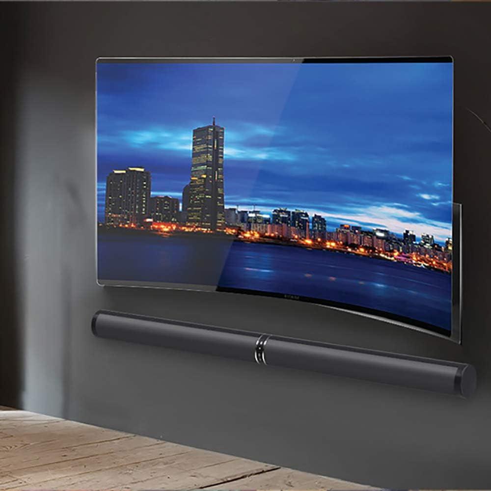 Barra de sonido desmontable TV con poderosos bajos Bluetooth y barras de sonido óptico con sistema de audio estéreo 6 Altavoces Barra de sonido envolvente Soporte de altavoces OPT / AUX3.5mm /