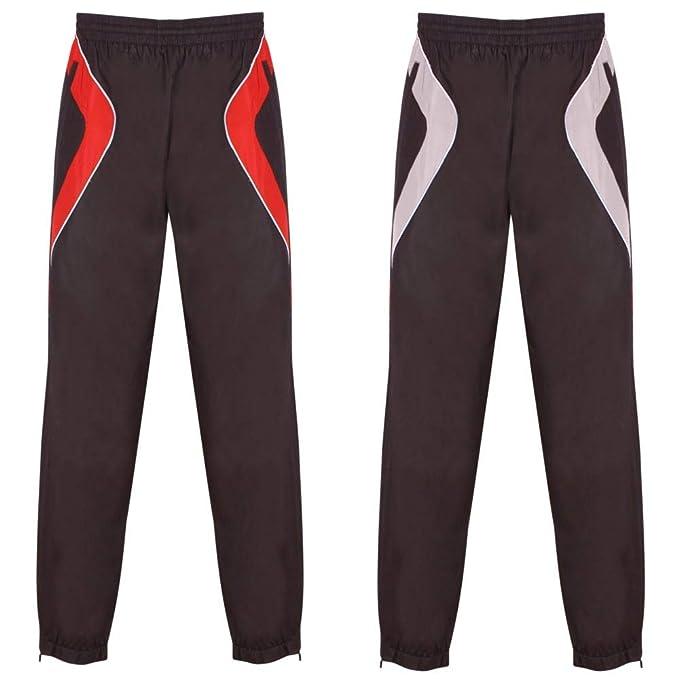 d3a1097678e6 Gazelle Sports Mens Tracksuit Jog Pants Jogging Bottoms Trousers Joggers  Cuffed Hem Zip Pockets  Amazon.co.uk  Clothing