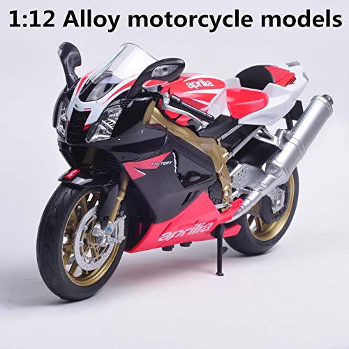 Metal Casting Figures - Diecasts & Toy Vehicles - Alloy Motorcycle Models,high Simulation Metal Casting Motorcycle Toys,Aprilia Cross Country Rally Road Racing, by HUKAZ - 1 PCs