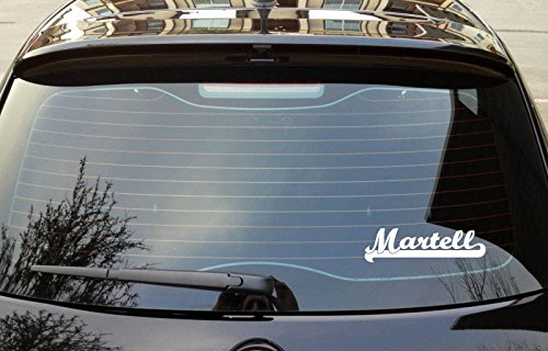 martell-last-name-ancestry-8x3-white-color-bumper-window-sticker-decal