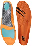 New Balance Insoles 3810 Ultra Support Insole Shoe, orange, Medium/M 5-5.5, W 6.5-7 D US