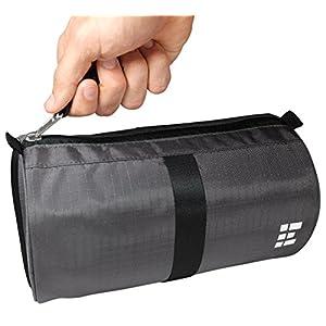 Zero Grid Travel Dopp Bag - Toiletry Kit for Men, Shadow